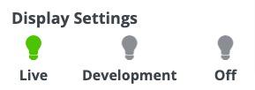 WordPress CTA Plugin Help - Display settings live option