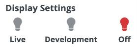 WordPress CTA Plugin Help - Display settings off option